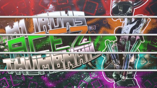 M1 Irons Thumbnail Pack - 3 Designs