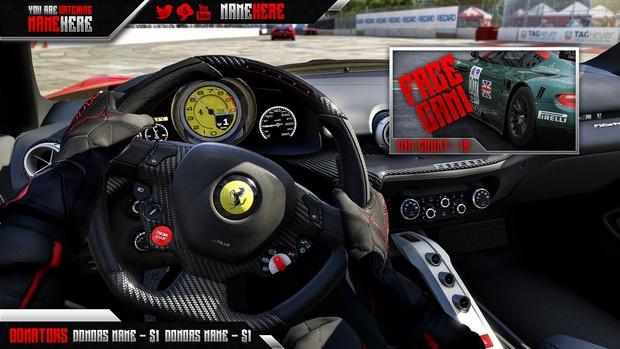 Forza Motorsport 6 Twitch Stream Overlay