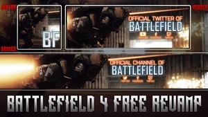 Battlefield 4 Social Media Revamp Pack