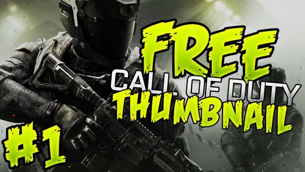 Infinite Warfare - FREE Thumbnail Template Pack - Photoshop