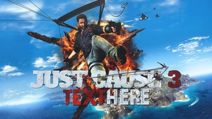 Just Cause 3 - YouTube Thumbnail Template Design