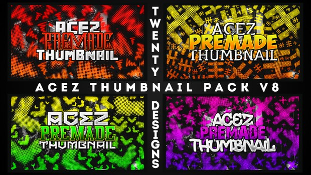Thumbnail Pack V8 - Standard Text Edition