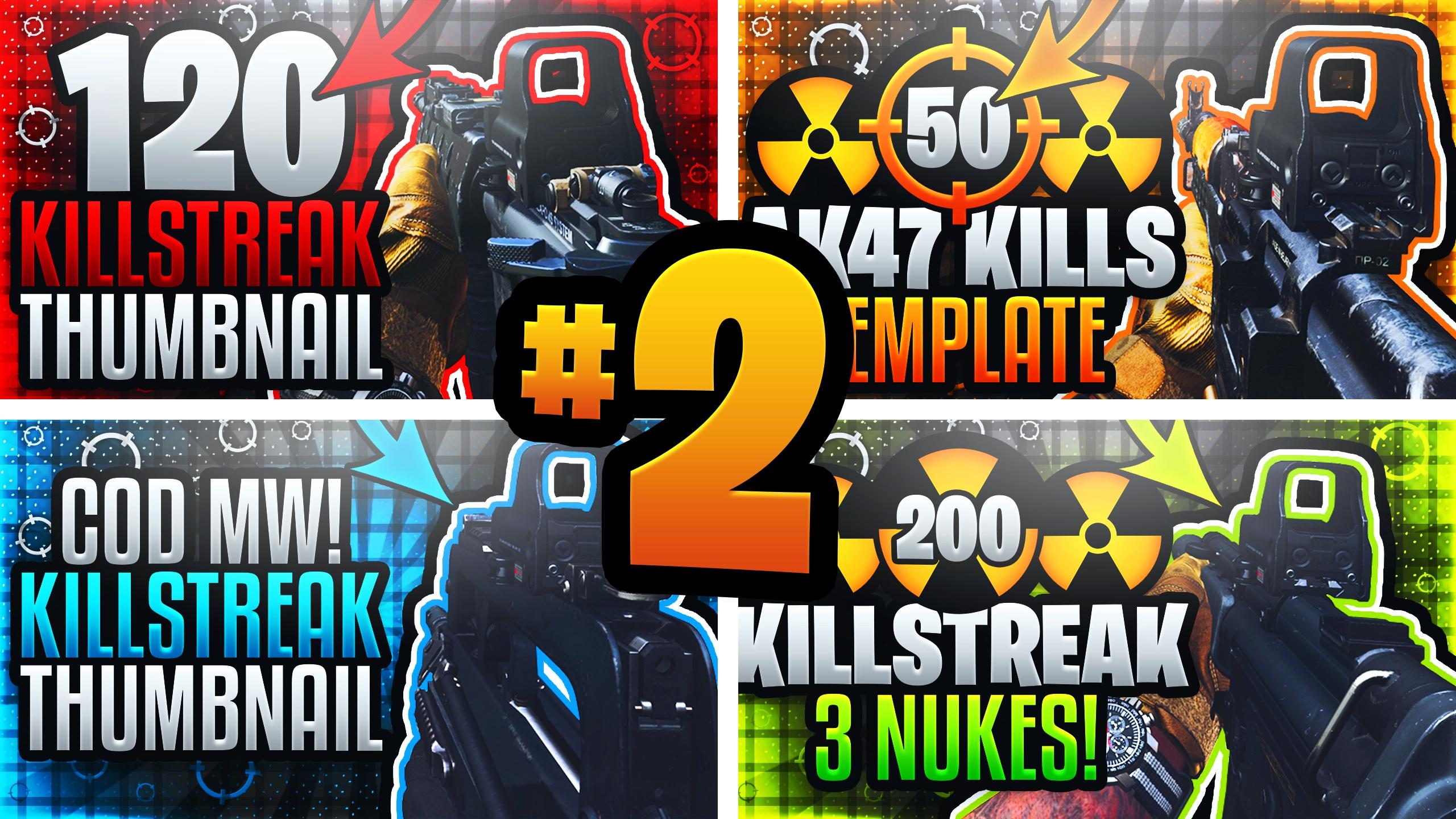 Modern Warfare Youtube Thumbnail Template Pack 2 Pu Acez Graphics Templates
