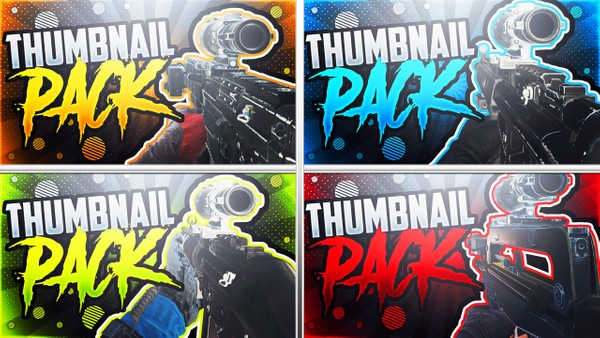 Ultimate Rainbow Six Siege Thumbnail Template Pack - YouTube Thumbnail Template for Photoshop