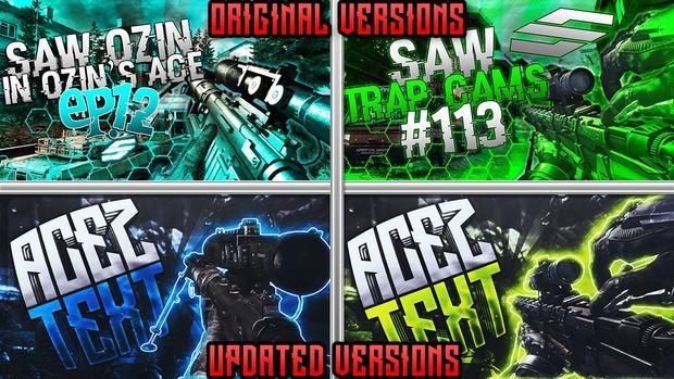 Thumbnail Pack V4 - Revamped Edition