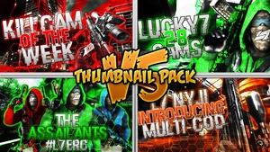 Thumbnail Pack V5 - L7 Gaming Edition