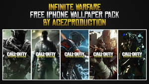 Infinite Warfare - iPhone Wallpaper Pack - Free Download