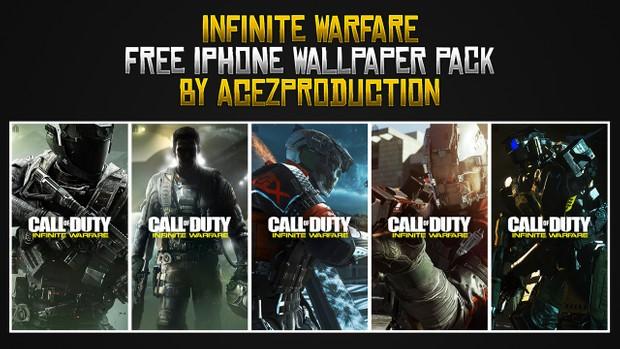 Infinite Warfare - iPhone Wallpaper Pack - Free Download