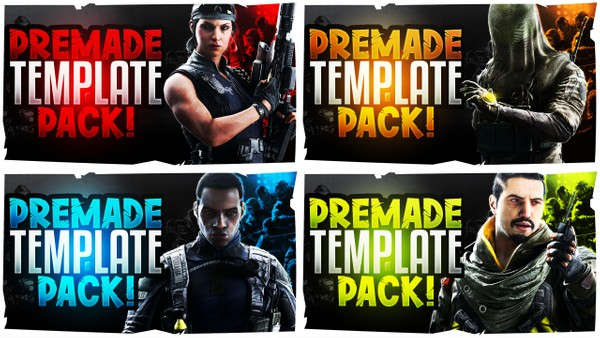 Rainbow Six Siege Thumbnail Template Pack V3 - Operation Shifting Tides