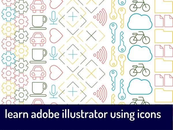 CONTENT SAMPLE Learn Adobe Illustrator Using Icons