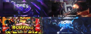 4Psd's Pack Headers @SoaR and @Obey