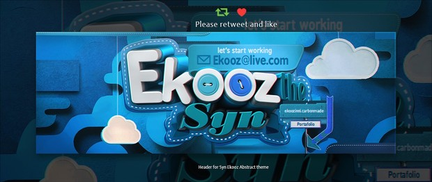 Header for Ekooz | Psd Template