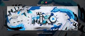 Header for Mixo | Psd Template