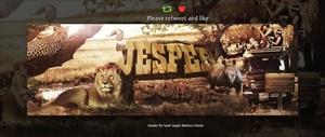 Header for Jesper | Psd Template