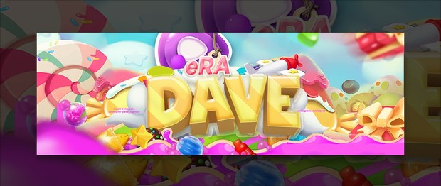 Header for eRa Dave | Template PSD File