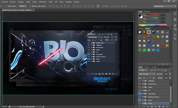 Exposed Biopack | Photoshop by 0so