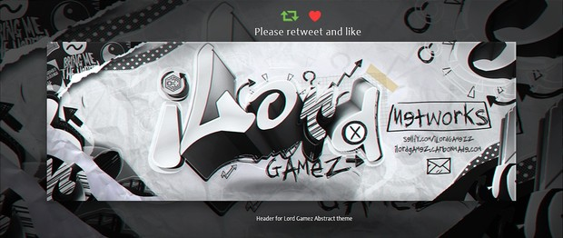 Header for Lord   Psd Template