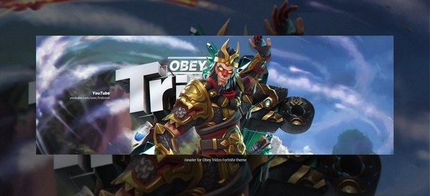Header for Obey Tridzo | Template PSD File