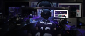 Header Gaming for SoaR Days | Template (PSD)