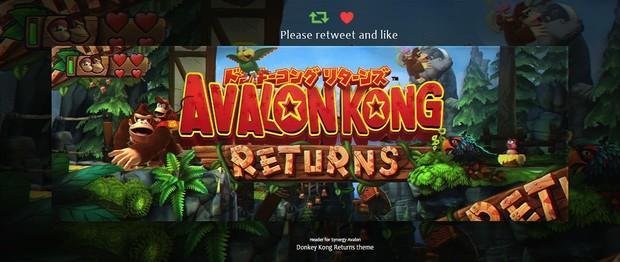 Header for Avalon | Psd Template