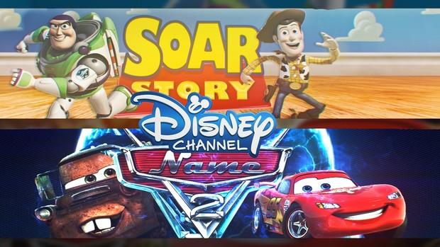 Banner Pixar @ToyStory @Cars2 | Templates