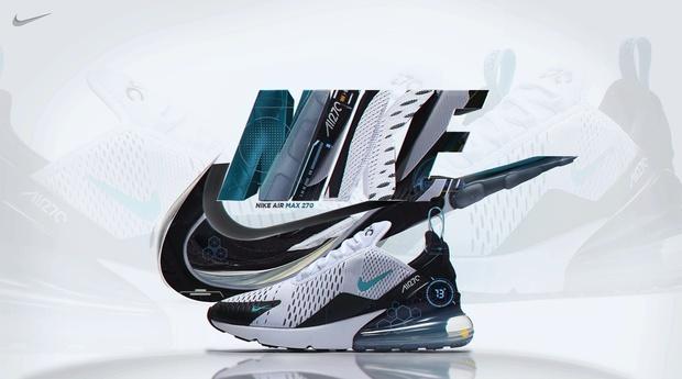 Advertisement NikeAirMax 270 | Template (PSD)