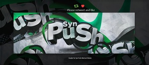 Header for Push | Psd Template