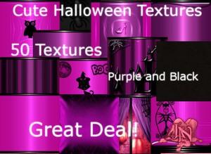 Cute Halloween Textures