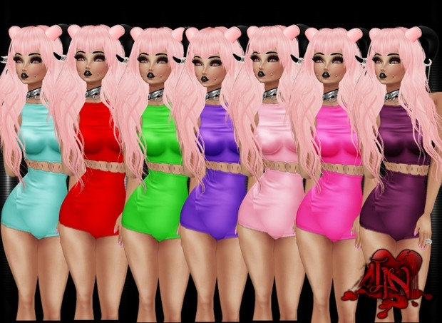 Pinup Outfit Pack (7 Colors)