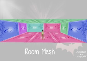 Small Room Mesh with Resell Rights