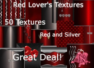 Red Lover's Textures (50)
