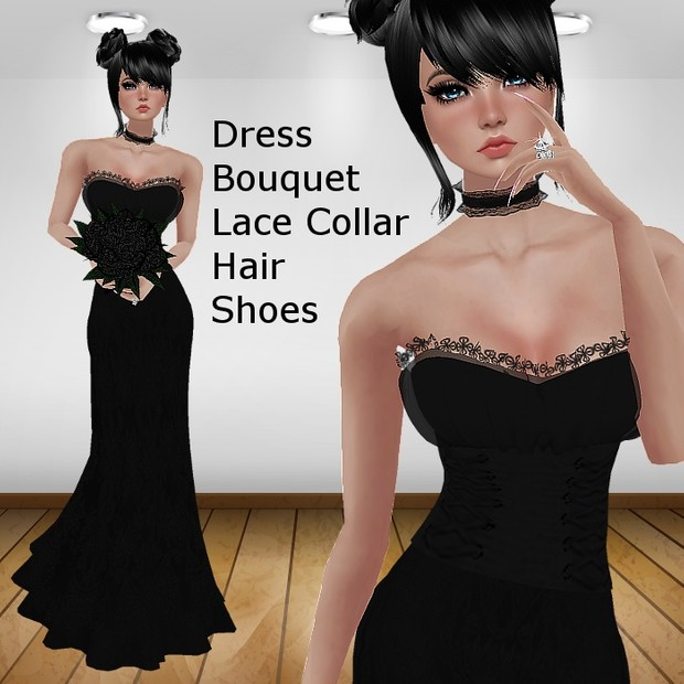 Gothic Wedding Bundle (Catty Only)