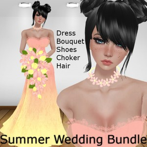Summer Bride Bundle (Catty Only)