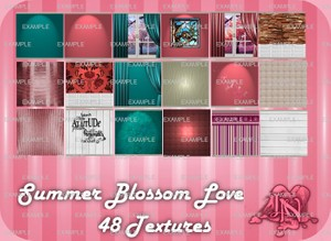 Summer Love Blossom Room Textures