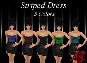 Striped Dress Pack