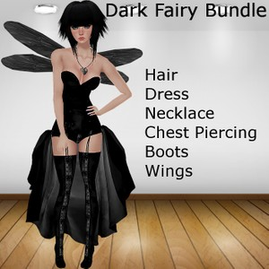 Dark Fairy Bundle (Catty Only)