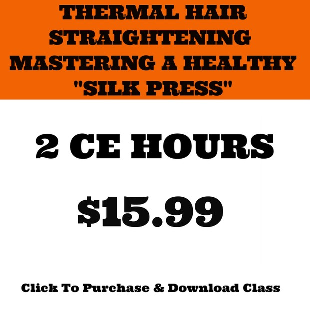 THERMAL HAIR STRAIGHTENING - MASTERING A HEALTHY
