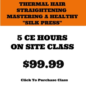 (HANDS-ON) THERMAL HAIR STRAIGHTENING - MASTERING A HEALTHY