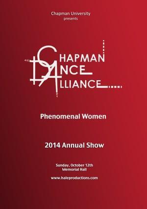 Chapman Dance Alliance 2014 - 05 - Phenomenal Women
