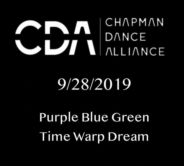 Purple Blue Green Time Warp Dream