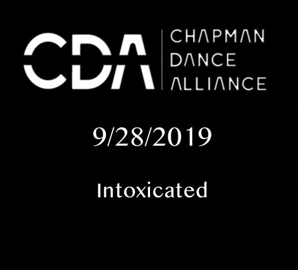 Intoxicated - Chapman University Tap Ensemble