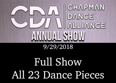 Chapman CDA 2018 Full Show