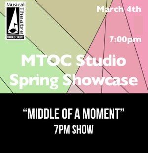 """""""Middle of A Moment"""" –  7PM 3/4/17 MTOC Spring Showcase"""