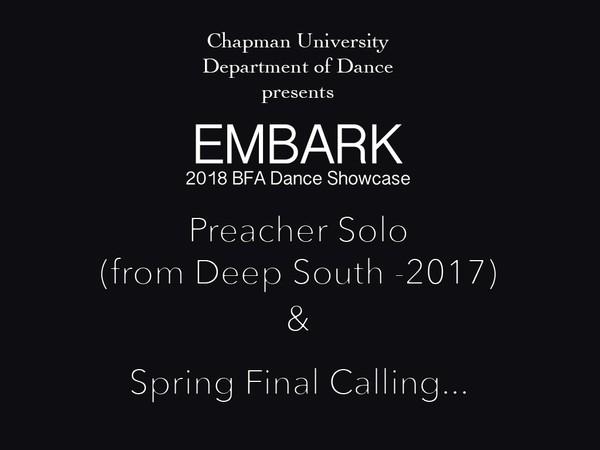 Preacher Solo