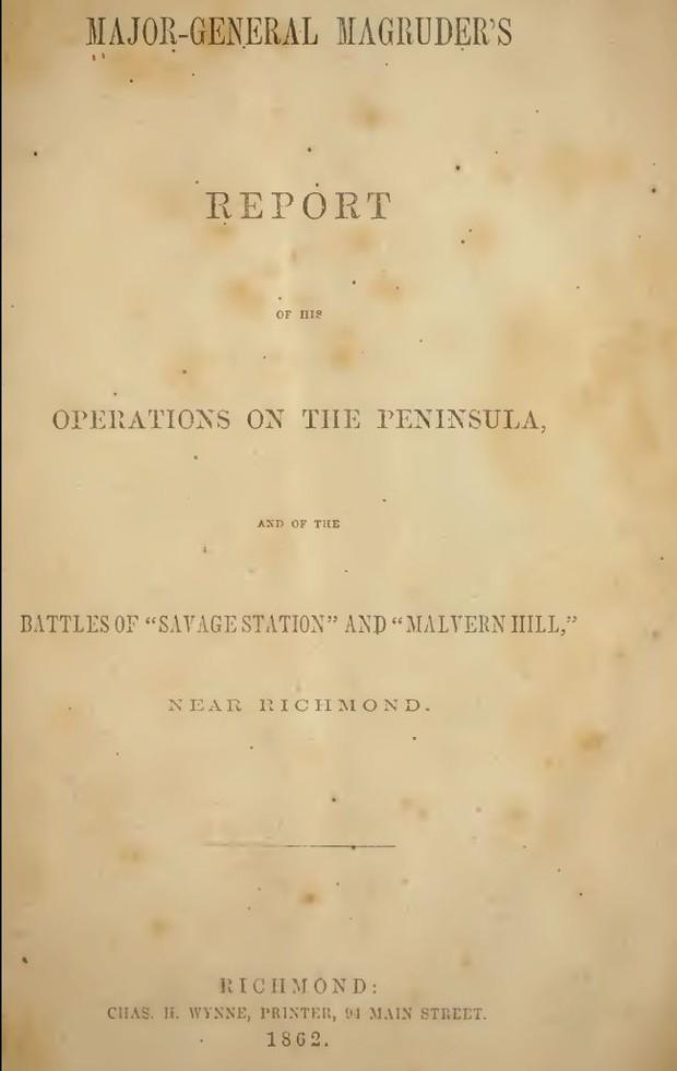 Civil War: Confederate Official Battle Reports - Download
