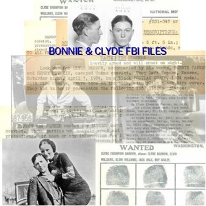 Bonnie & Clyde and the Barrow Gang FBI Files and Court Documents = Download
