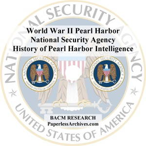 World War II: Pearl Harbor: National Security Agency, CIA, and Military Documents - Download