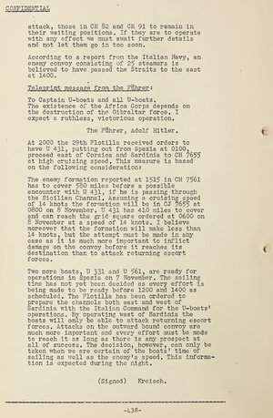 World War II German U-Boat Captains' War Diaries U.S. Naval Intelligence Translations - Download