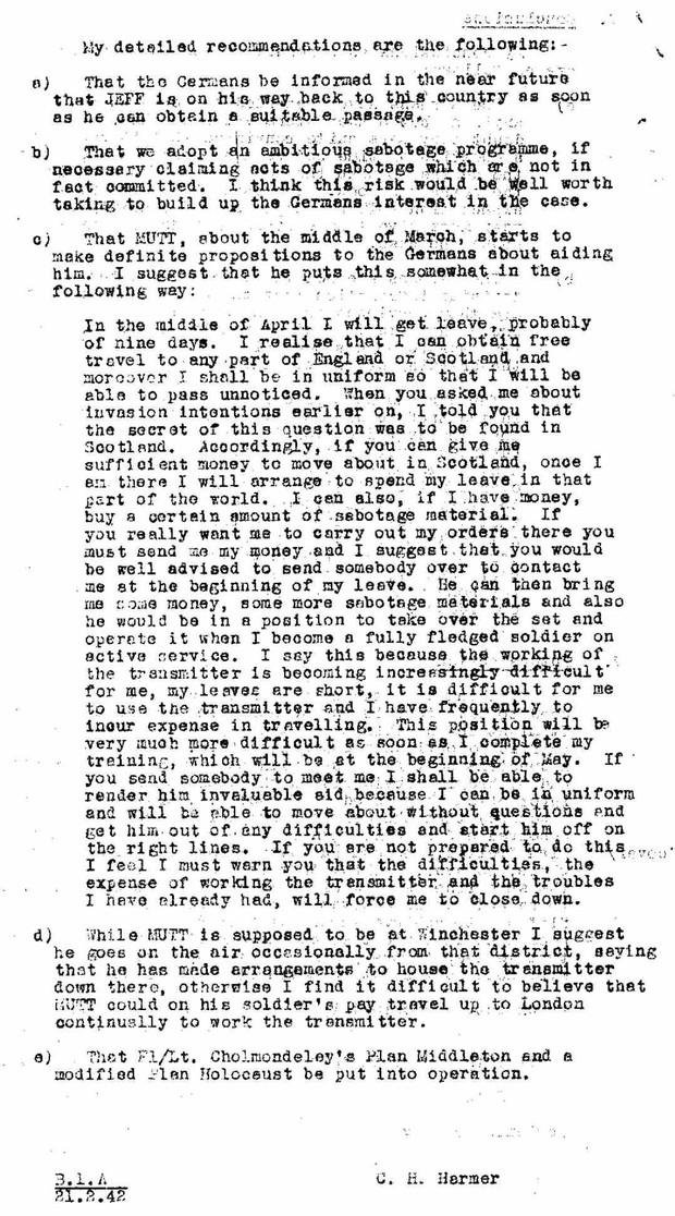 World War II Mutt & Jeff Double Agents MI5 British Intelligence Files - Download