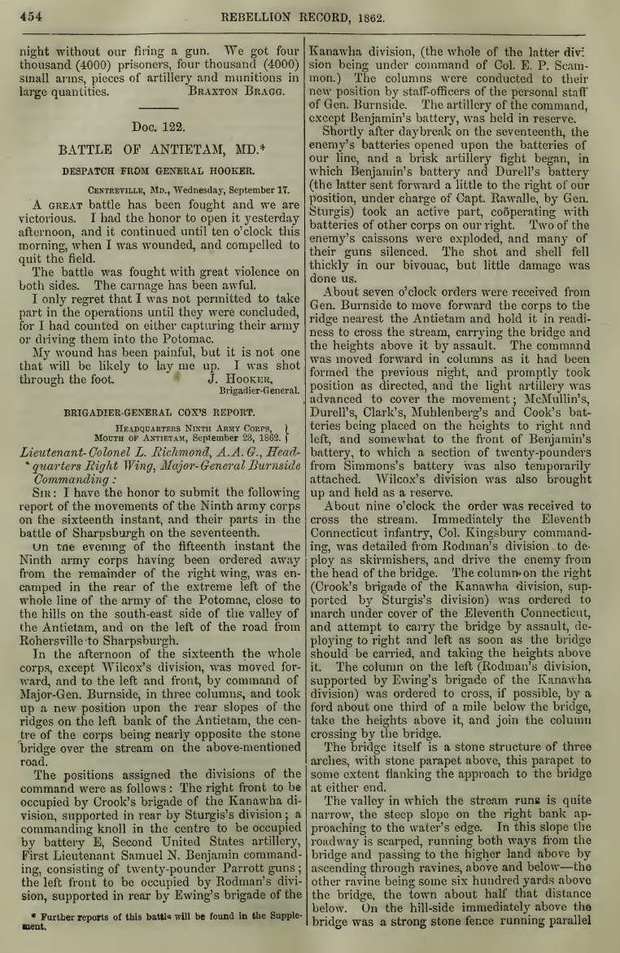 The Rebellion Record: A Diary of American Events, with Documents, Narratives, 1861 to 1868